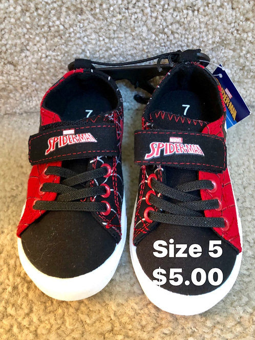 New Spiderman Shoes