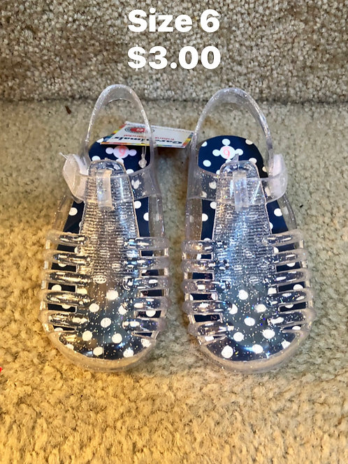 New Girl Jelly Shoes