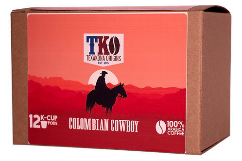 TK-Cups Colombian Cowboy - Single Origin
