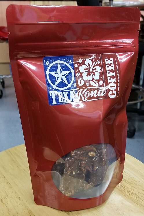 Krackle - Kona Coffee + Pecan Brittle
