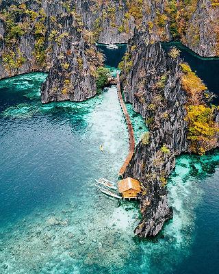 Island hopping in Coron, Kayangan Lake,