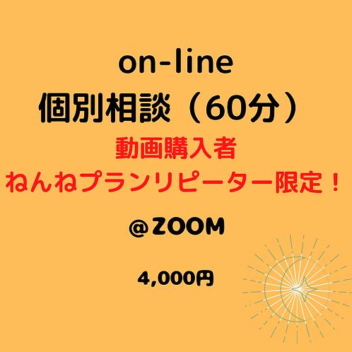 on-line個別相談【動画購入者・ねんねプランリピーター限定】