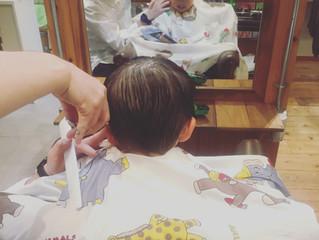 Kids hair cut ☆