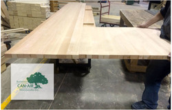 L Shaped Wide Plank