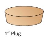 """1"""" Plug"""