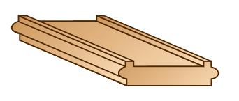 """1 3/4"""" width Shoe Rail"""