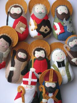 Juan Diego, Nativity Joseph, St. Philip,