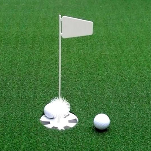The Net Return Putting Cup & Flag