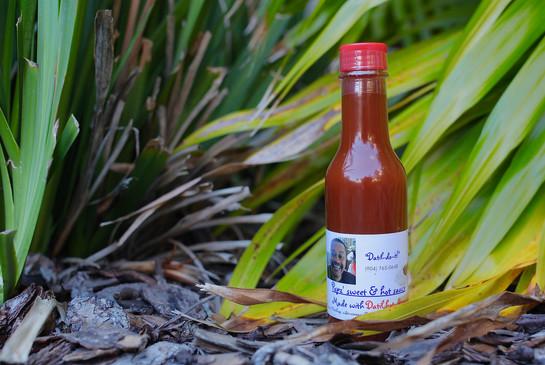 Popz' Sweet and Hot Datil pepper Sauce