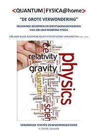 boek <QUANTUM FYSICA@HOME>, auteur DIRK VANWALLE