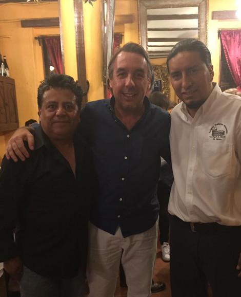 Con Emilio Azcárraga Jean