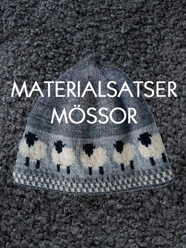 Materialsatser mössor