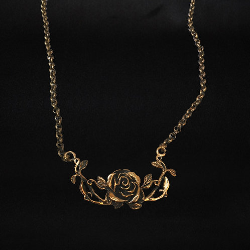 Gotlandsros collier, brons