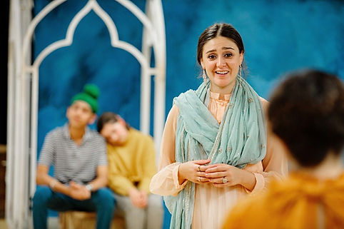 Yasmin Taheri in The Merchant of Venice, The RSC photo by Sam Allard