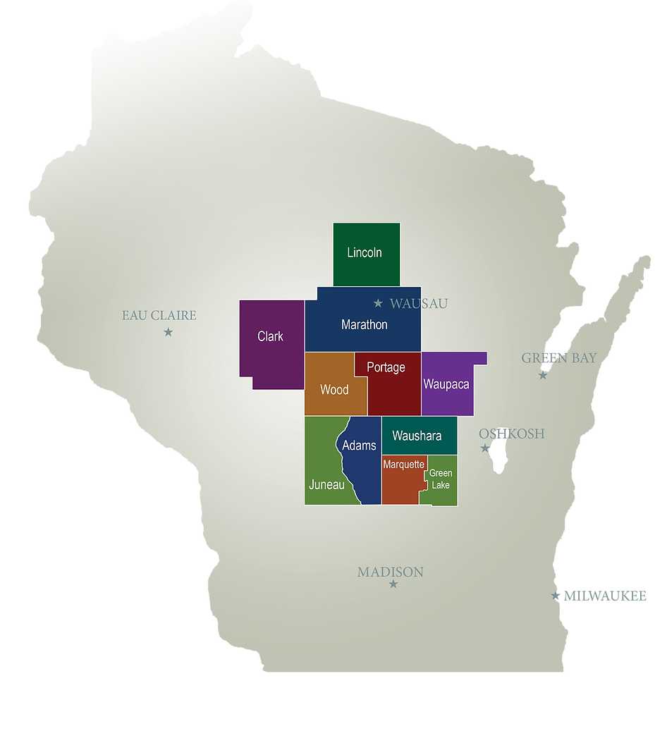 Central region_multi-colored with counti