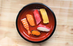 食品サンプルお寿司体験