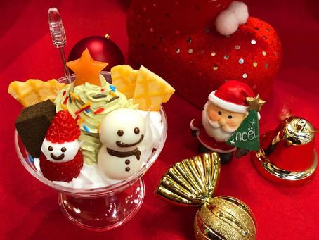 クリスマスの季節のジェラート