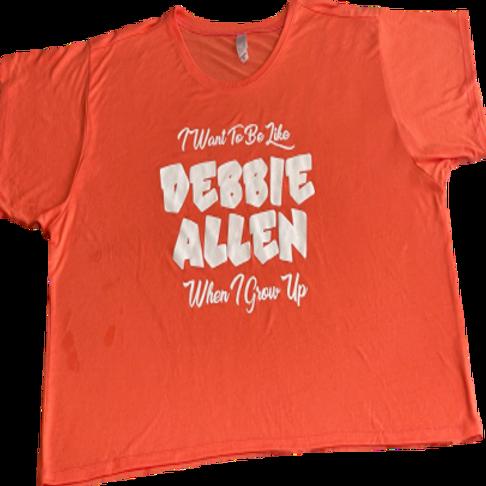 Orange Cropped Boxy T-Shirt