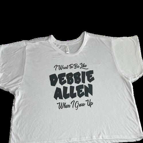 White Cropped Boxy T-Shirt