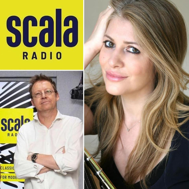 Lisa Friend and Simon Mayo-Scala Radio J