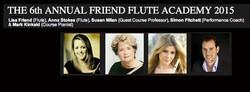 6th Annual Friend Flute Academy 2015