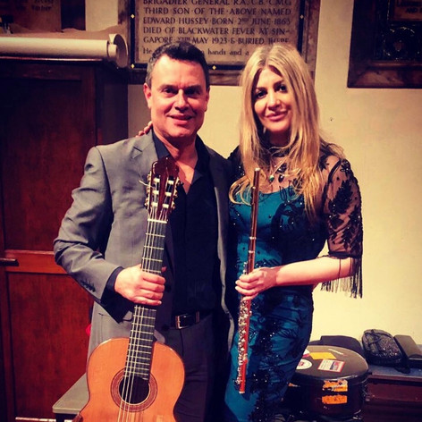 Lisa Friend Flute and Craig Ogden Guitar