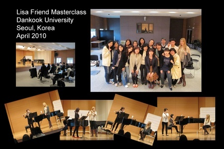 Lisa Friend Flute Classes-Sth Korea