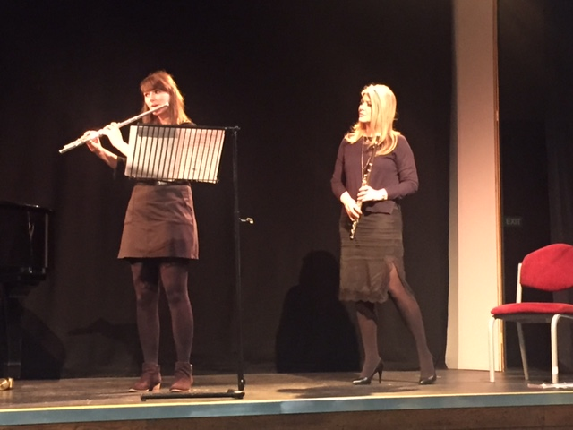 Lisa Friend Hull Uni flute masterclass and recital.4