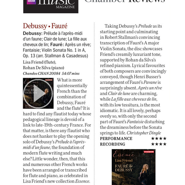 BBC Music Magazine Review July 2019