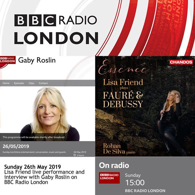 BBC Radio London-Lisa Friend Live perfor