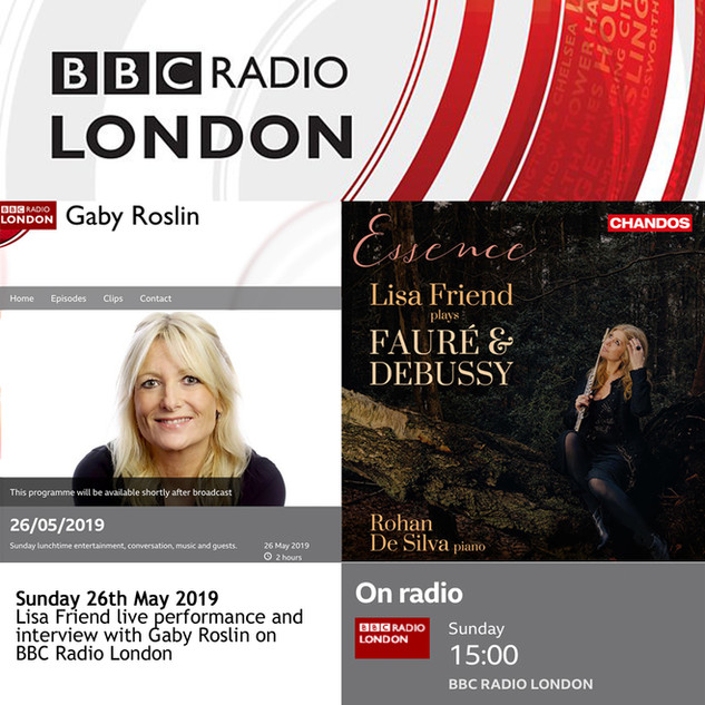 BBC Radio London-Lisa Friend Live perfor