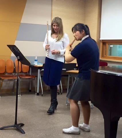 Lisa Friend Flute Masterclass-Sunwha