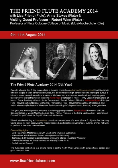 Friend InternationalFlute Academy 14