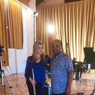 Lisa Friend and Rohan de Silva Chandos r