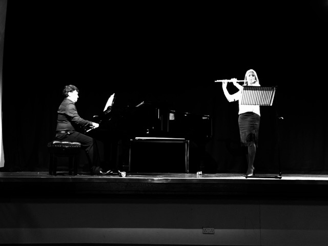 Lisa Friend Hull Uni flute masterclass and recital 2