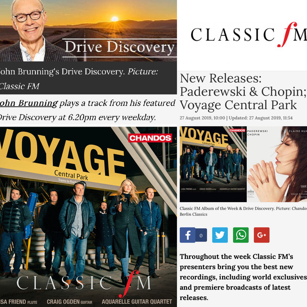 Voyage Album Chandos Records