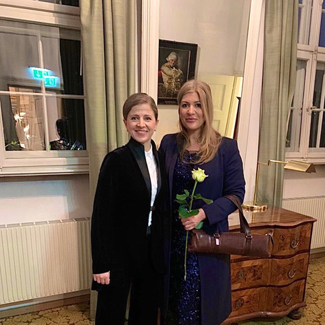 Lisa Friend and Kristiina Poska-Mozart W