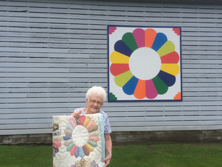 Tiskilwa Historical Society Features Barn Quilts of Bureau County on September 11
