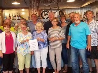 Reunion Class of 1969 Donates $1,069 to Tiskilwa Historical Society
