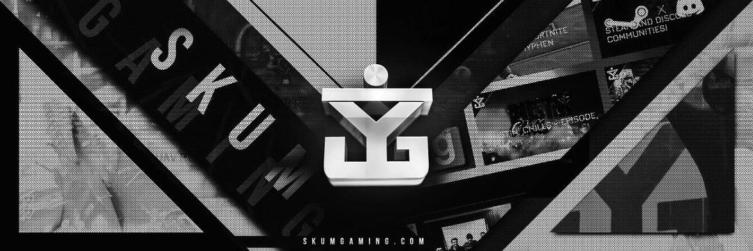 SKUM Gaming Banner