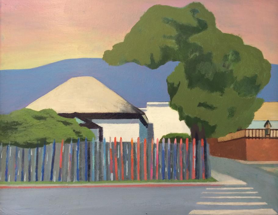 Ski Fence House and Wort