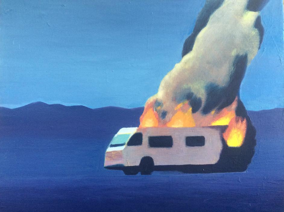 Moonlight RV Fire