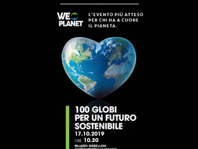 100 globi per un futuro sostenibile  Milano, 17/10/2019 - 10:30