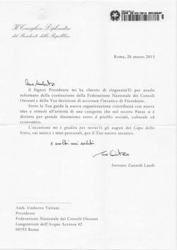 Amb. Zanardi Landi