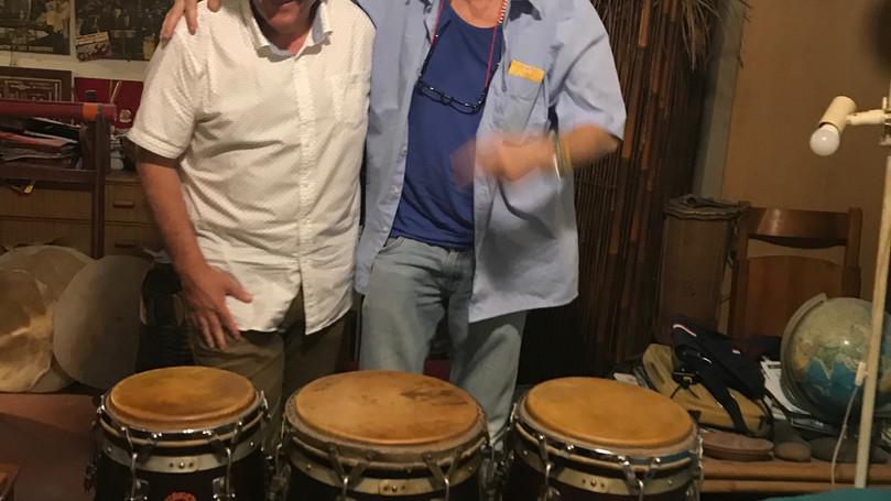 Rencontre avec un maestro de la percussion et fabricant des fameux congas MAMEY