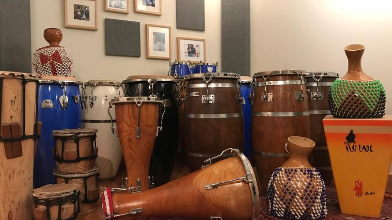 LA RENTRÉE  2020 à  l'école de percussion Ilu Ladé
