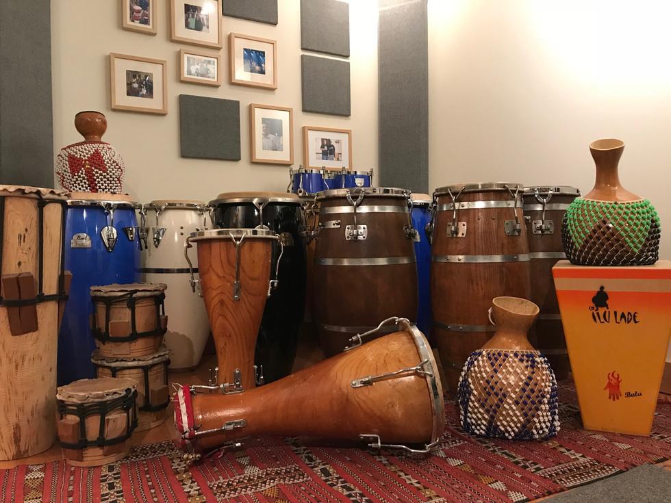 LA RENTRÉE SCOLAIRE 2020                   à  l'école de percussion Ilu Ladé