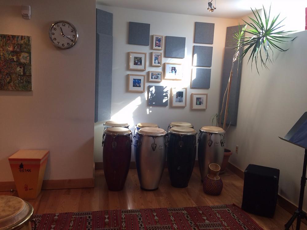 cours de percussion école Ilu Ladé