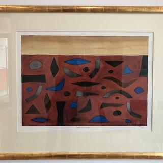John Coburn  argyle landscape  Watercolour 1998