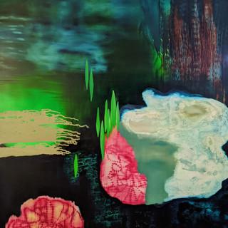 Jo Darbyshire  leeuwin current, rottnest island #2   Oil on canvas, 2008